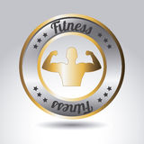 Fitness vector Royalty Free Stock Image