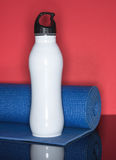 Fitness Water and Mat Royalty Free Stock Photo