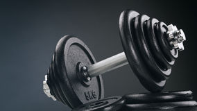 Fitness and Weight Lifting - Dumbbell Stock Image