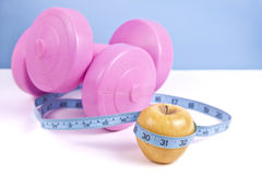 Fitness and Weight Loss Concept Stock Image