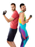 Fitness weights Stock Photos