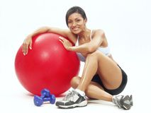 Fitness woman. Stock Photos