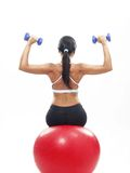 Fitness woman. Royalty Free Stock Images