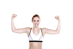 Fitness woman. stock photo