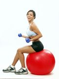 Fitness woman. Royalty Free Stock Photo