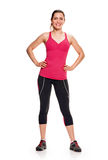 Fitness woman aerobic Royalty Free Stock Image
