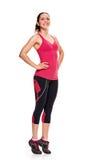Fitness woman aerobics Stock Photos