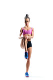 Fitness woman Royalty Free Stock Photo