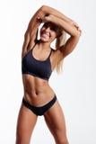 Fitness woman Royalty Free Stock Photos
