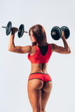 Fitness woman royalty free stock photography
