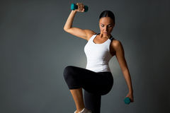 Fitness woman. stock images