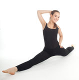 Fitness woman doing stretching exercise Stock Photography