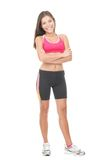 Fitness Woman Full Length Royalty Free Stock Image