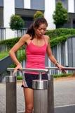 Fitness woman gym Stock Photo