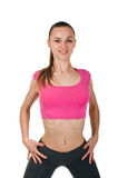Fitness woman portrait Royalty Free Stock Images