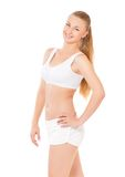 Fitness woman Royalty Free Stock Images