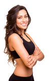 Fitness woman posing Royalty Free Stock Photo
