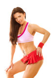 Fitness woman posing Stock Photography