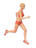 Fitness Woman Running Stock Photos