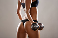 Fitness woman. Royalty Free Stock Photos