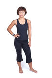 Fitness woman in sports attire Royalty Free Stock Photo