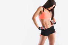 Fitness woman in sportswear. Stock Photo