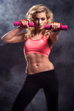 Fitness woman standing Royalty Free Stock Images