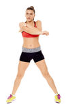Fitness woman stretching Stock Photo