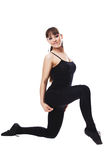 Fitness woman stretching full body Stock Images