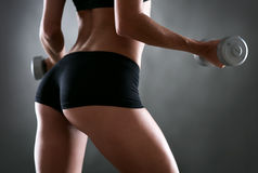 Fitness woman in training Royalty Free Stock Images