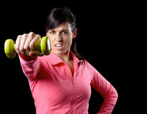 Fitness woman training Stock Photo