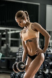 Fitness woman Stock Images