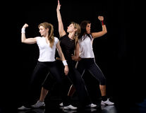 Fitness women royalty free stock photo