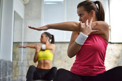 Fitness women Stock Photography