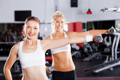 Fitness women exercising Stock Photography
