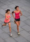 Fitness women running royalty free stock image