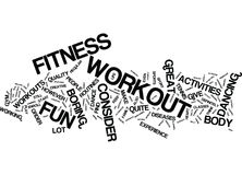 Fitness Workout For Your Financial Muscles Word Cloud Concept. Fitness Workout For Your Financial Muscles Text Background Word Cloud Concept Stock Photos