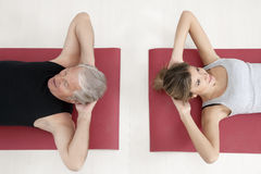 Fitness and yoga Royalty Free Stock Image