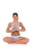 Fitness yoga exercise Stock Image
