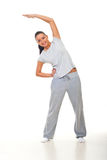 Fitness young woman royalty free stock images