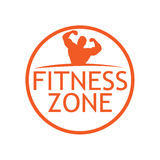 Fitness zone. Creative Colorful Ring of peoples Teamwork Concept Royalty Free Stock Photos