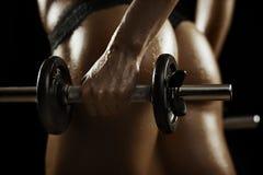 Fitnesschoonheid royalty-vrije stock foto's