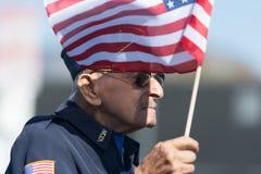 Fito Magdaleno U S Veterano dell'esercito Immagini Stock