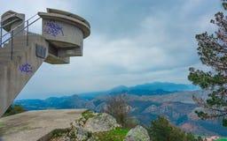 Fito viewpoint.Asturias. Stock Photos