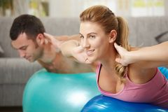 Free Fittness At Home Stock Photos - 12769263