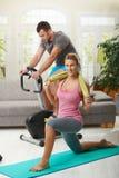 fittness dom zdjęcie stock