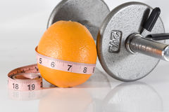 Fittness Orange Royalty Free Stock Photos