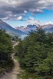 fitz βουνό Roy στοκ εικόνες