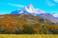 fitz βουνό Roy Στοκ φωτογραφίες με δικαίωμα ελεύθερης χρήσης