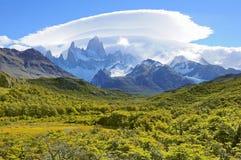 fitz βουνό Roy Στοκ φωτογραφία με δικαίωμα ελεύθερης χρήσης